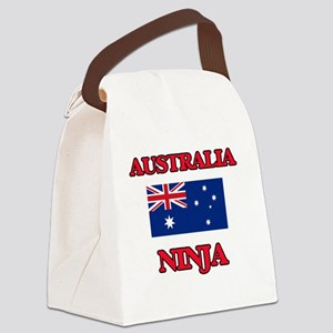 Australia Ninja Canvas Lunch Bag
