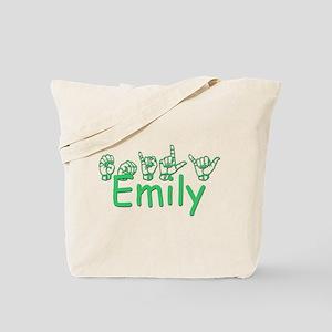 Emily-grn Tote Bag