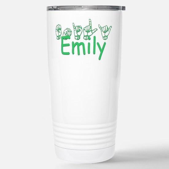 Emily-grn Stainless Steel Travel Mug