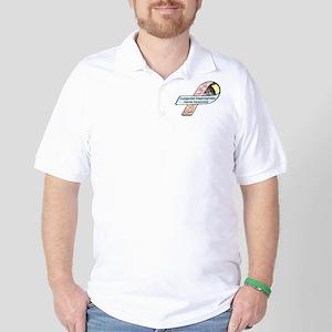 Liam Knott CDH Awareness Ribbon Golf Shirt