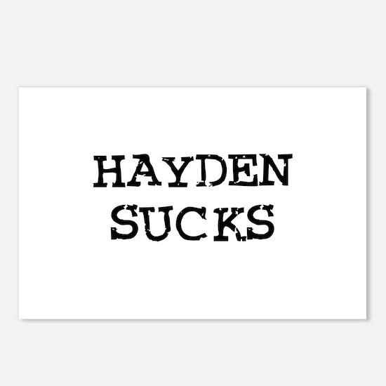Hayden Sucks Postcards (Package of 8)