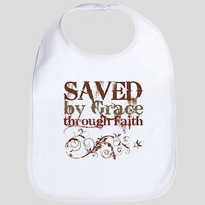 Saved by Grace Bib