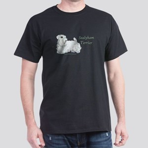 Sealyham Terrier Good Life Dark T-Shirt