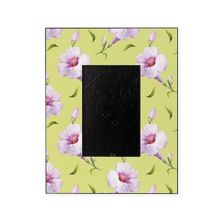 Pink Floral Lemon Picture Frame