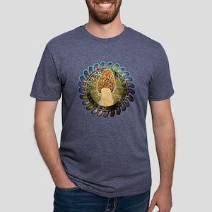 Psychedelic morel mushroom ar T-Shirt