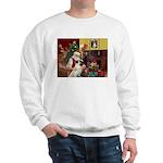 Santa/Anatolian Shep Sweatshirt