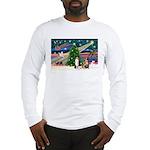 XmasMagic/2 Aussies (P1) Long Sleeve T-Shirt