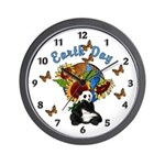 Earth Day Planet Wall Clock