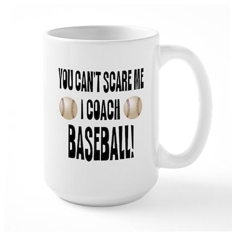 I Coach Baseball Large Mug