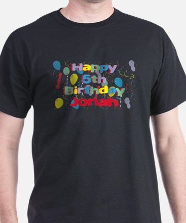 Jonahs 5th Birthday T Shirt