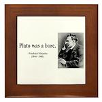 Nietzsche 34 Framed Tile