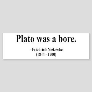 Nietzsche 34 Bumper Sticker