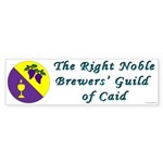 Caid Brewers' Guild Bumper Sticker (50 pk)