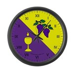 Caid Brewers' Guild Large Wall Clock