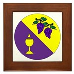 Caid Brewers' Guild Framed Tile
