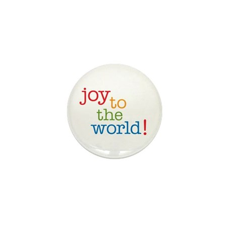 Joy to the World Mini Button (10 pack)