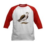 Osprey Bird of Prey (Front) Kids Baseball Jersey