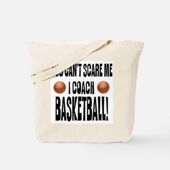 I Coach Basketball Tote Bag