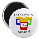 "Jam Session 2.25"" Magnet (10 pack)"