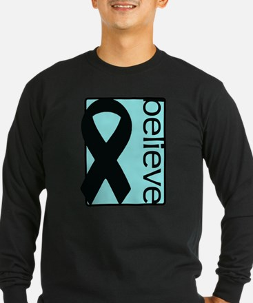 Light Blue (Believe) Ribbon T