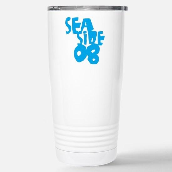 Seaside 08 Stainless Steel Travel Mug