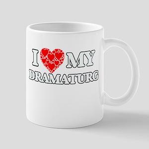 I Love my Dramaturg Mugs