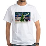 Xmas Magic & Beardie White T-Shirt