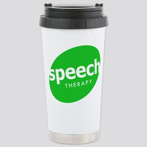 Speech Therapy Stainless Steel Travel Mug