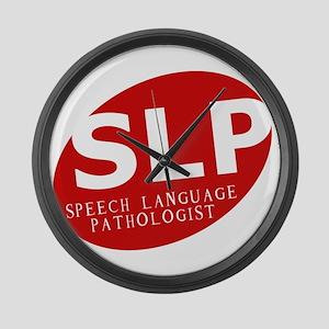 Speech Language Pathologist Large Wall Clock