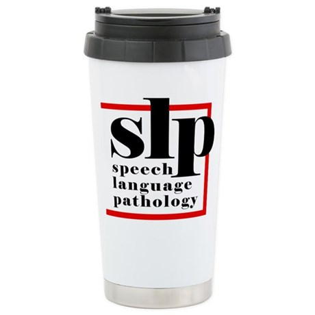 SLP - Speech Language Patholo Stainless Steel Trav