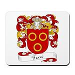 Ferré Family Crest Mousepad