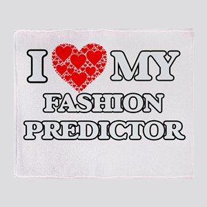 I Love my Fashion Predictor Throw Blanket
