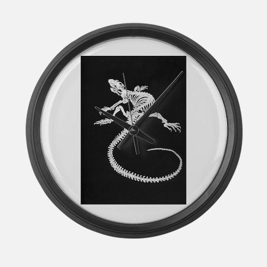 Lizard Large Wall Clock