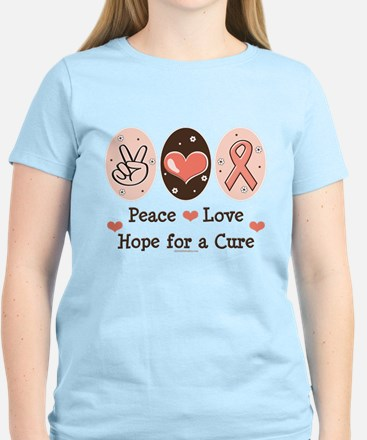 Peace Love Hope For A Cure Women's Light T-Shirt