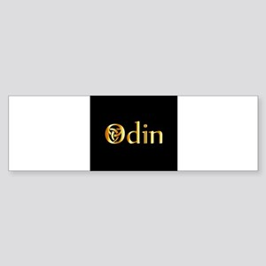 Odin- The graphic is a symbol of th Bumper Sticker