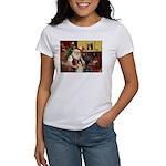 Santa's Boxer (#1) Women's T-Shirt