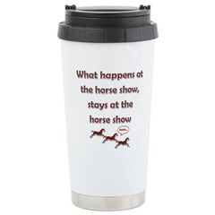 Happens at the show Stainless Steel Travel Mug