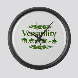 Versatility in green Large Wall Clock