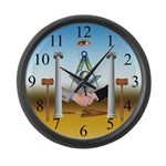The Brotherhood Large Wall Clock