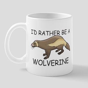 I'd Rather Be A Wolverine Mug