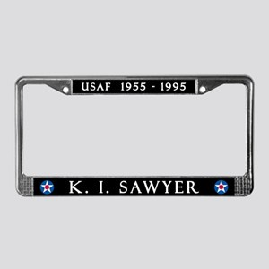 K. I. Sawyer Air Force Base License Plate Frame