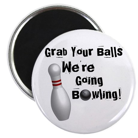 "Grab your balls 2.25"" Magnet (100 pack)"