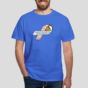 Christopher Toth CDH Awareness Ribbon Dark T-Shirt