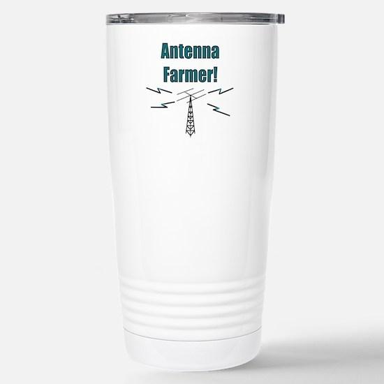 Antenna Farmer! Stainless Steel Travel Mug