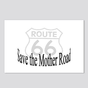 Route 66 Save the Mother Road Postcards (Package o