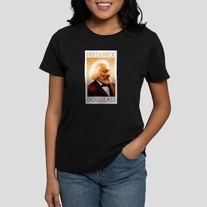 Frederick Douglass Women's Dark T-Shirt