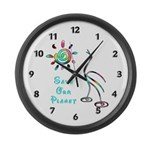 Save Our Planet Large Wall Clock