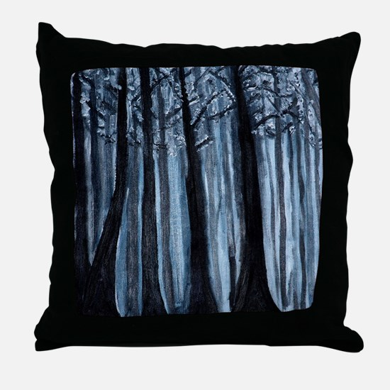Funny Mysterious Throw Pillow