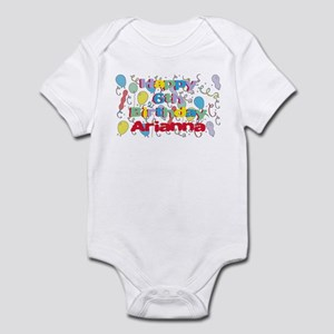Arianna's 6th Birthday Infant Bodysuit