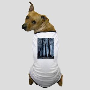 Snowy Forest Dog T-Shirt